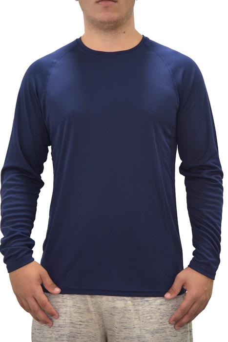 דרייפיט שרוול ארוך - כחול נייבי